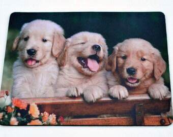 Golden Retriever Puppies Mousepad / Mouse Mat
