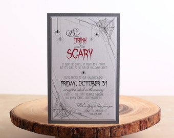 Halloween Party Invitations, Halloween Invitations - look 10