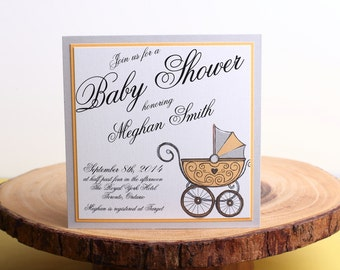Baby Shower Invitation- look 6