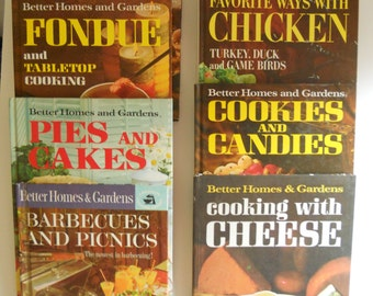 Your Choice: Vintage Better Homes and Gardens Cookbooks