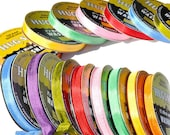 4 Rolls of Hug Snug Seam Binding Ribbon - Message us your 4 colors! Great for Scrapbooking, Crafts, Floral Arrangements, Sewing & More!