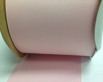"3"" BABY PINK - Grosgrain Ribbon  -100% Polyester  - Ribbon for Hair Bows - Thick Ribbon - Schiff"