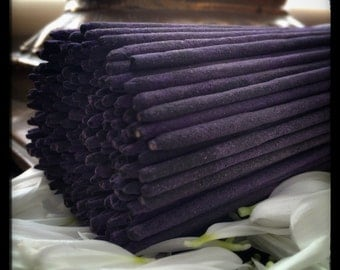 Blue Lotus, Hand Rolled Luxury Organic Incense.