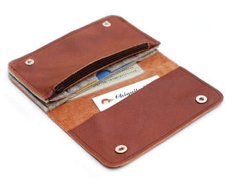 Purse money & more leather + felt
