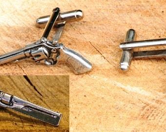 Revolver Tie Clip Etsy