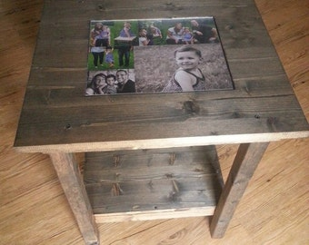 Photo End Table