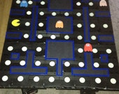 VHS COFFEE TABLE (Pacman Themed)