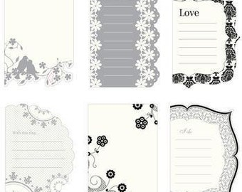 Making Memories BLACK TIE Spiral Journaling Book