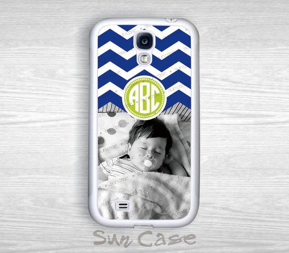 Mother's day gift Monogram iPhone 5/5S/4/4S Case Samsung Galaxy S5/S4/S3/Note 3/Note 2 Case Monogrammed-  Personalized photo - PP14011