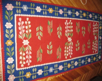 Popular Items For Flat Weave Rug On Etsy