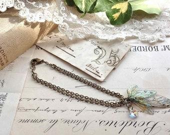 """Pretty delicate """"Faerie wing bracelet"""""""