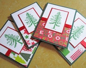 Tree Christmas Cards, Christmas Card Set, Holiday Cards, Boxed Christmas Card Sets, Holiday Card Set, Merry Christmas Card Sets