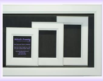 White Picture Frames 4x4 4x6 5x5 5x7 6x6 7x7 8x10 8.5x11.5 8x12 9x9 11x11 12x12 12x16 13x13 14x14 15x15 16x10 20x30 Request Your Size (B13)