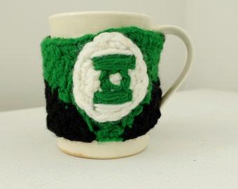 Green Lantern Mug Cozy