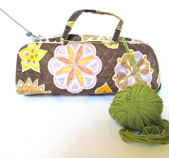 Vintage Knitting Bag : Vintage plastic knitting bag