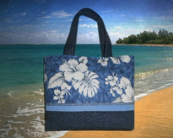 Hawaiian Tote Hand Created from my Touch of Hawaiian Line