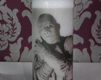 The Mummy - Scented Pillar Candle