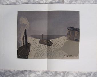 Georges Braque - Derrière le Miroir - Limited edition print 1963