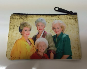 Golden Girls Inspired Coin Purse