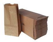 Classic #4 lb Brown Bags 100 Count Bundle for Customer Orders, Lunch, Craft Projects, Puppets