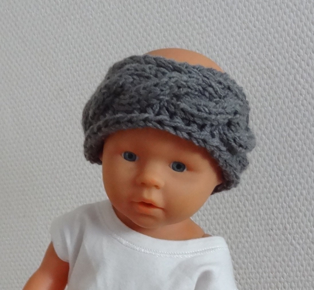 Knitting Headband For Baby : Knit baby headband cable by