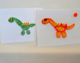Dinosaur Art Notecards GAC1