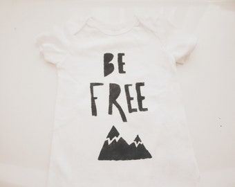 Baby Bodysuit- Be Free