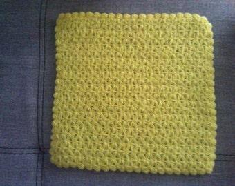 Loofah, crocheted