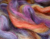 Roving for spinning super soft in merino, seacell and viscose