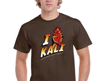 I (heart) Kali - Indiana Jones Temple of Doom Men's T-Shirt