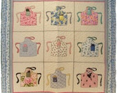 Apron Charms Hand or Machine Appliqué Quilt Pattern by Betty Alderman Designs, PDF, Download