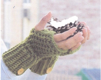 BROOKLYN FINGERLESS MITTS