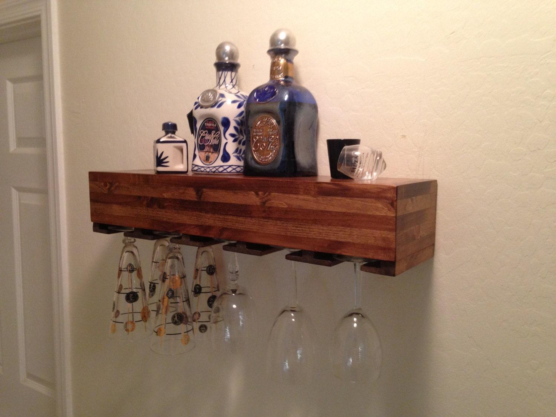 Wine Glass Shelves Wall Mount Shelves Wine Glass Holder