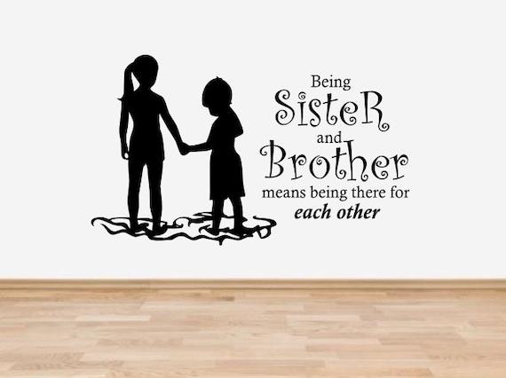 Bruder und Schwester gefangen
