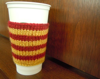 Coffee Cozy - Hogwarts House Colors