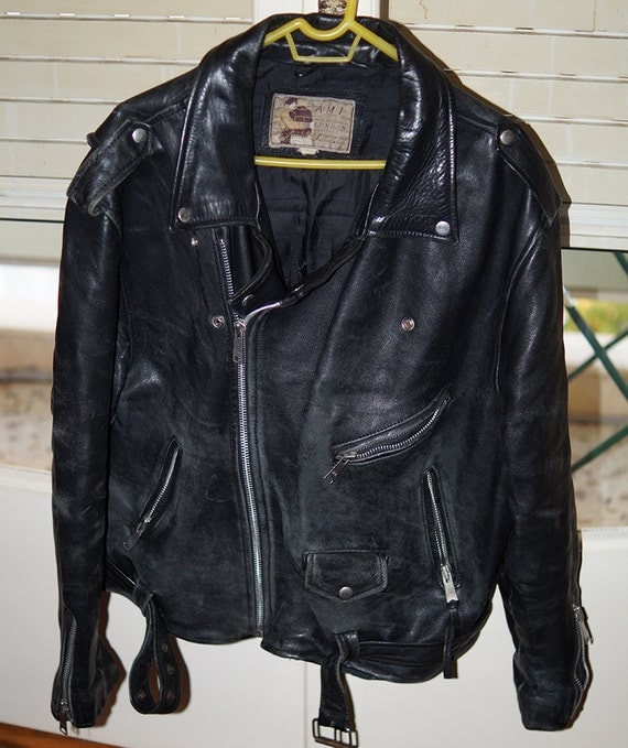leather jacket london: