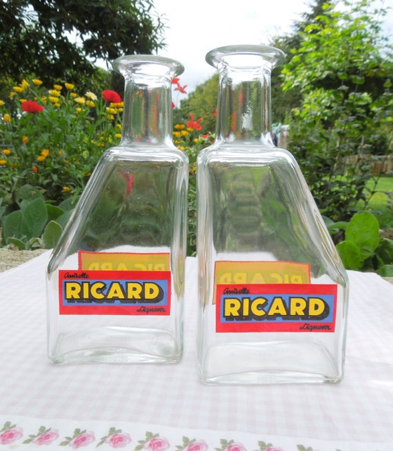 ricard vintage d 39 eau carafe tr s bon tat pichet eau. Black Bedroom Furniture Sets. Home Design Ideas