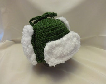 Baby Hunting Hat - Crochet - Made to Order - Photo Prop