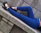 Cabled Knitted Winter Trousers