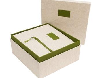 Combined Wedding Album & Wedding Keepsake Box
