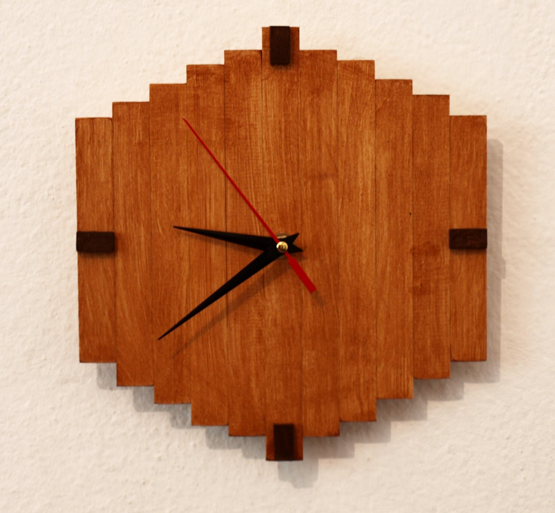 handmade wooden clocks 28 images vintage handmade walnut wooden rustic wall clock 25 unique
