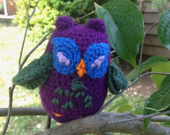 Little Owl Amigurumi