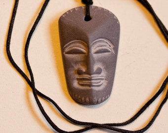 Stone Carved Necklace