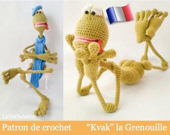 002F Kvak frog! Amigurumi crochet pattern. PDF file. By Pertseva Etsy