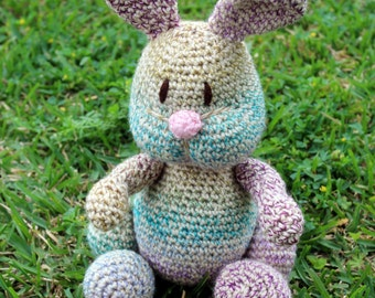 Crochet Pudgy Bunny