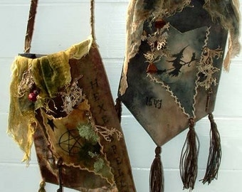 Old Witch Hag Bags E-Pattern