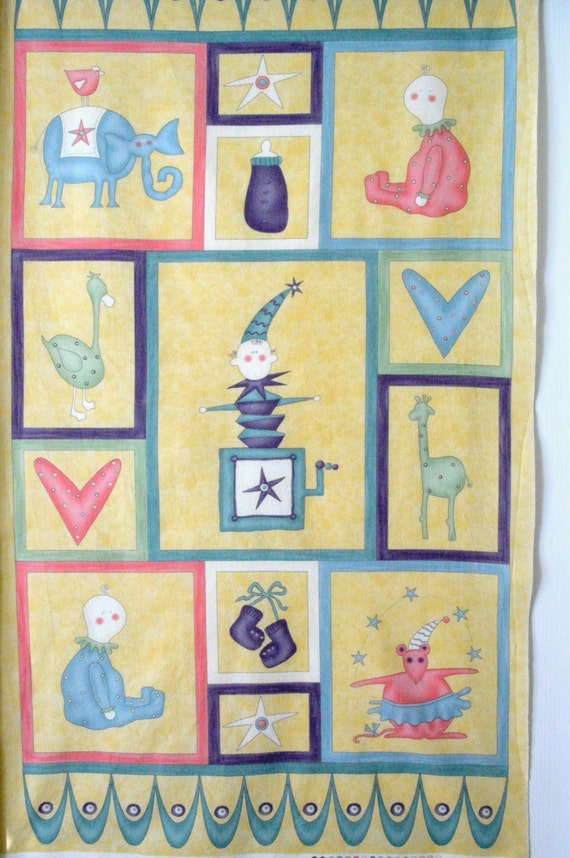 Baby Quilt fabric and pattern Moda Baby by NancysNeedfulThings