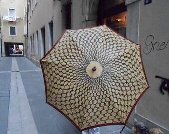 Ombrello vintage di Roberta di Camerino. Made in Italy. Anno 1980.