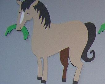 Horse die cuts