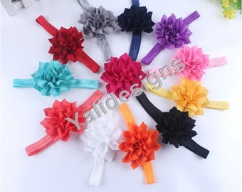 U Pick Wholesales Spike Flowers Headband Baby Headbands. Newborns Headbands. Girl's Headband YTH35